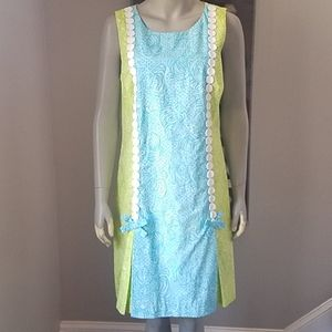 Lilly Pulitzer Jubilee Tenley Caged Tiger Dress